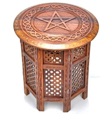 magickal home - altar table