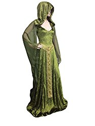 Forest Dryad Pagan Wedding Dress