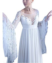Pixie Princess Pagan Wedding Dress