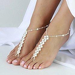 Barefoot sandals - Bohemian pagan