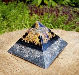 orgonite pyramid EMF