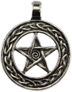 internal change wiccan necklace