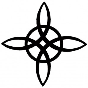 wiccan symbol - witch knot