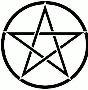 wiccan symbol - pentacle