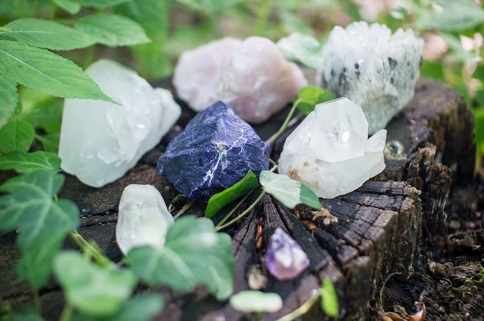 crystal healing for sadness