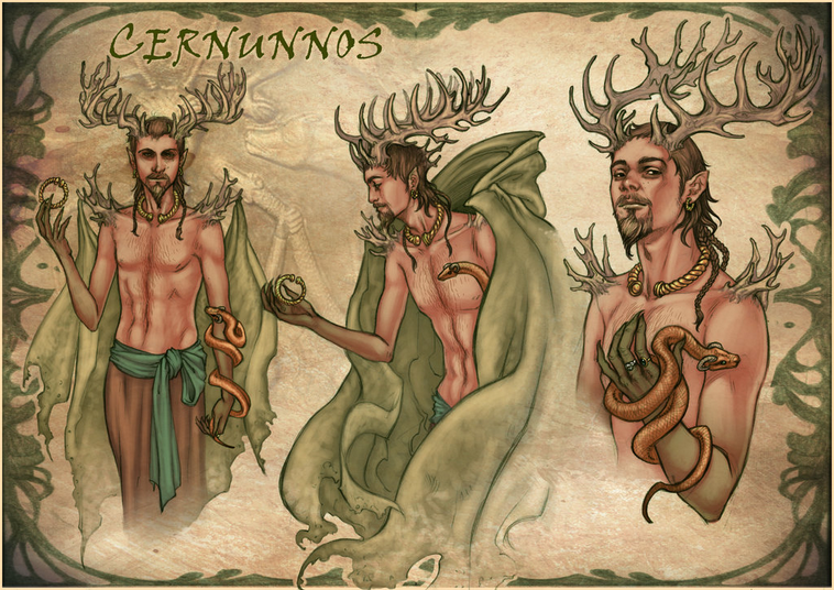 Dark god cernunnos